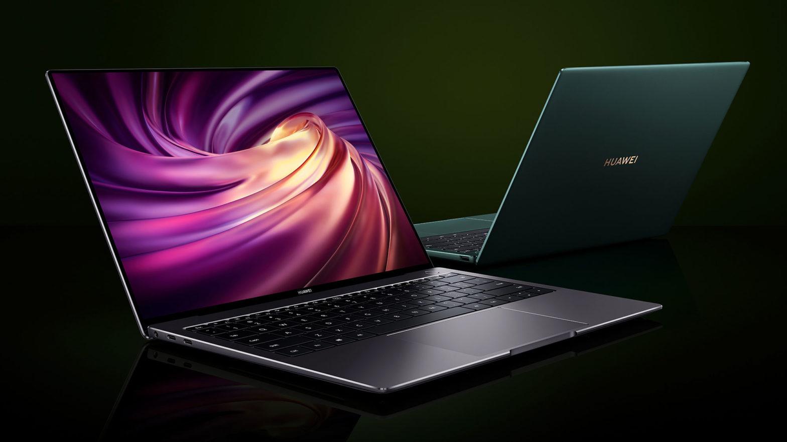 Huawei MatePad Pro 5G and MateBook X Pro Laptop