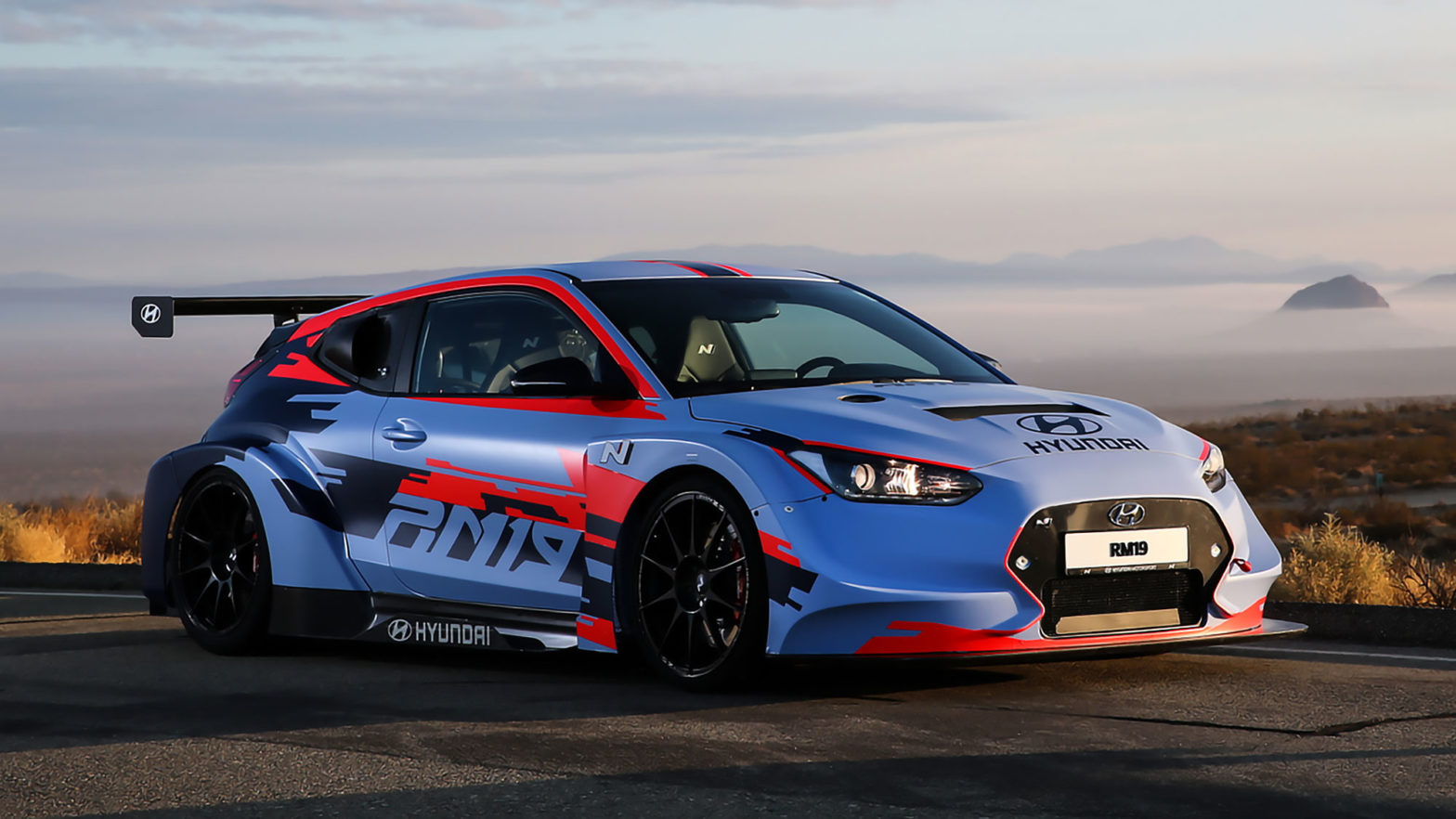 Hyundai RM19 Racing Midship Sports Car