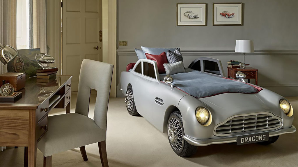 James Bond-inspired Vintage Car Bed