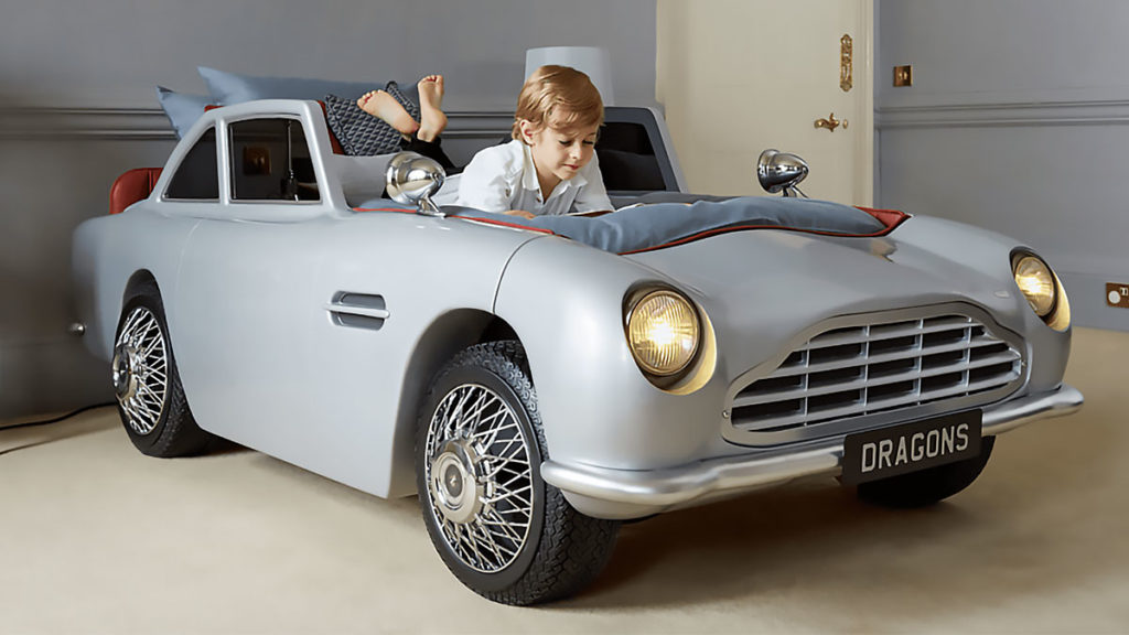 Here S A James Bond Inspired Car Bed For Your Secret Agent Wannabe Child Shouts