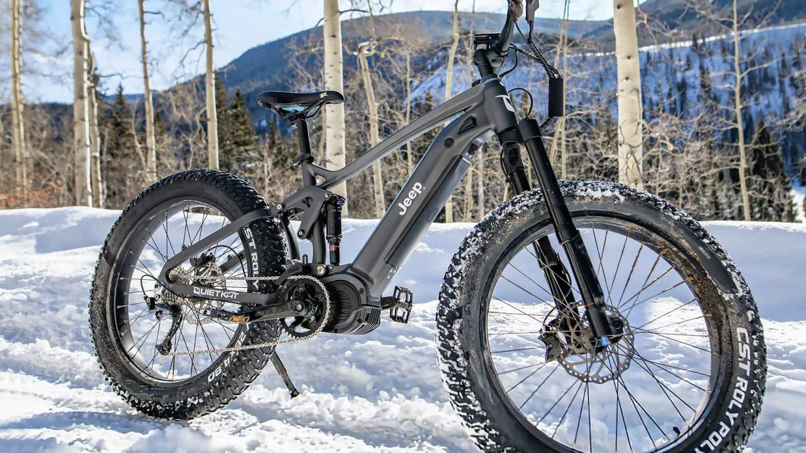 Jeep e-Bike Powered By QuietKat Revealed