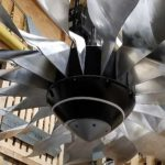 Kurt Eldrup Of Phighter Images Is Making A Giant Jet Engine Fan Ceiling Fan For Rolls-Royce
