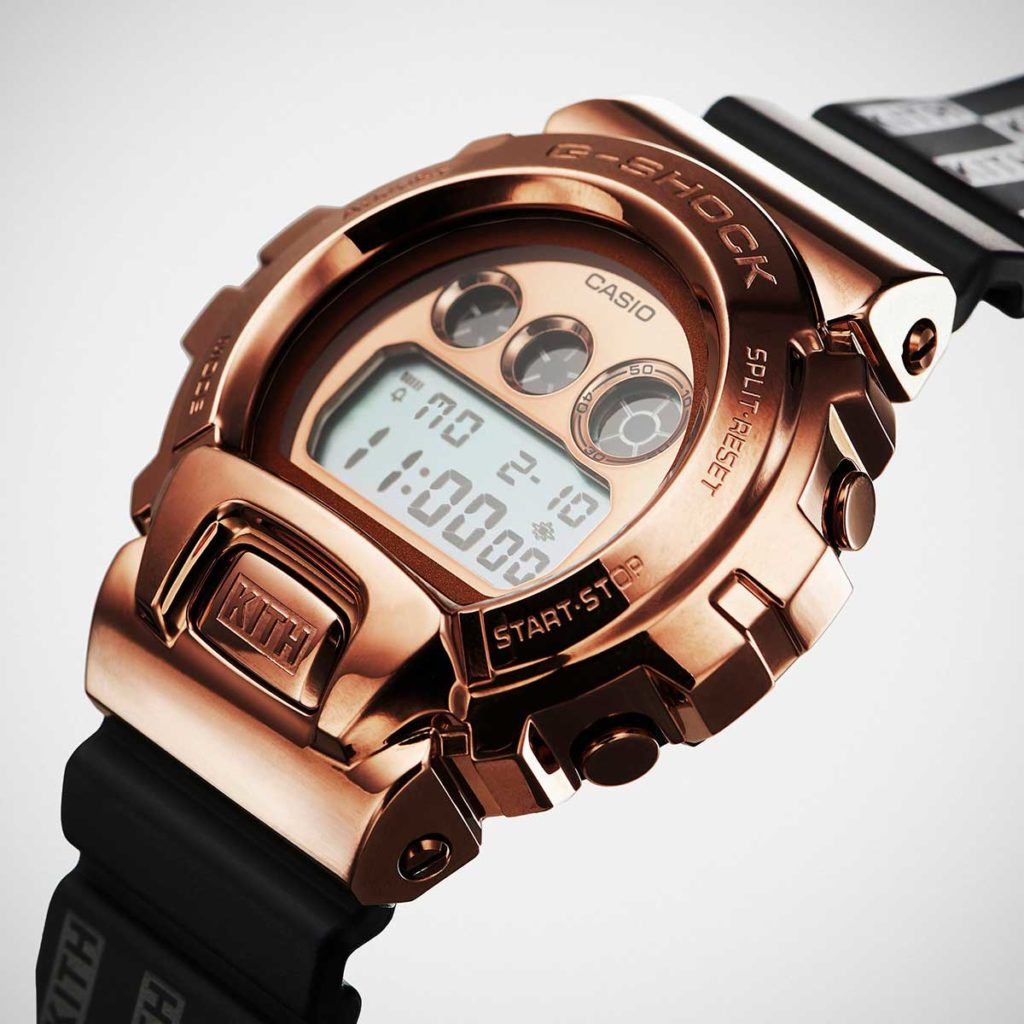KITH x G-Shock GM6900 Rose Gold