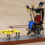 JK Brickworks Recreate Adam Savage's Robot Rickshaw As A LEGO Kinetic Art