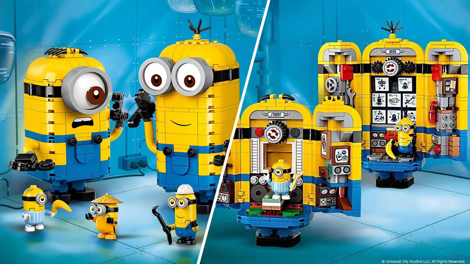 LEGO Minions The Rise of Gru Sets