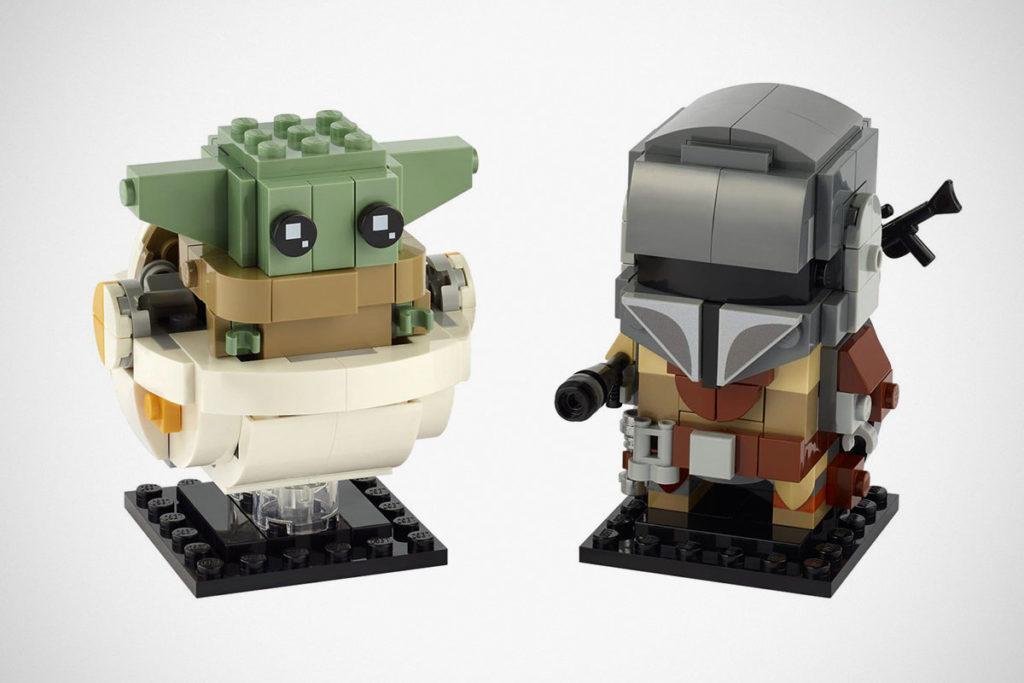 LEGO 75317 Brickheadz The Mandalorian & The Child