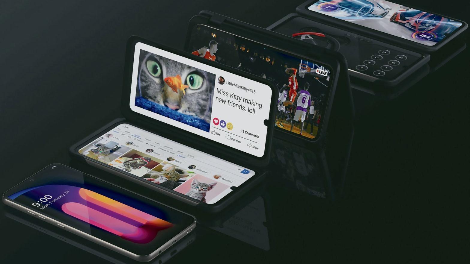 LG V60 ThinQ 5G with LG Dual Screen Smartphone