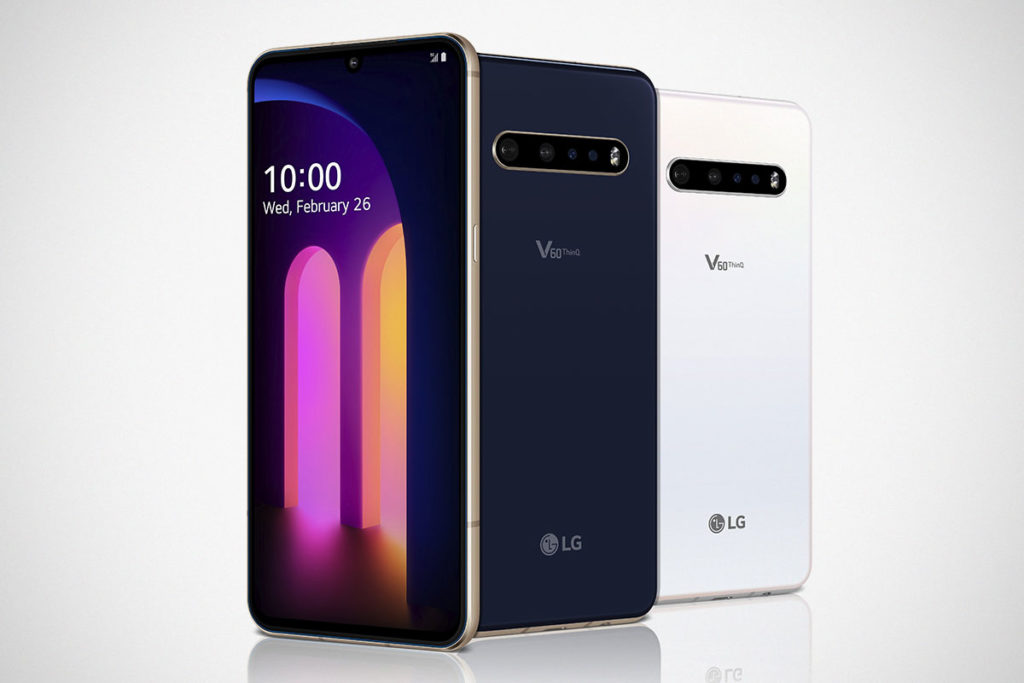 LG V60 ThinQ 5G with LG Dual Screen Smartphone