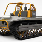 Roads? The LiteTrax Muddtrax MTX-C Needs No Roads. Not Even Water Can Stand It Its Way