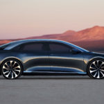 Lucid Air Electric Vehicle Is An Open Top Sports Sedan Without Actually Being Open Top