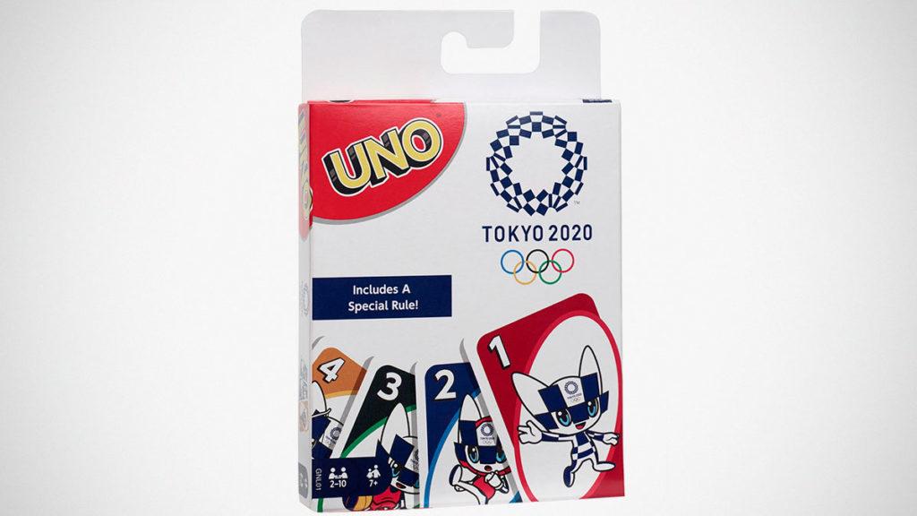 Mattel UNO Olympics Games Tokyo 2020