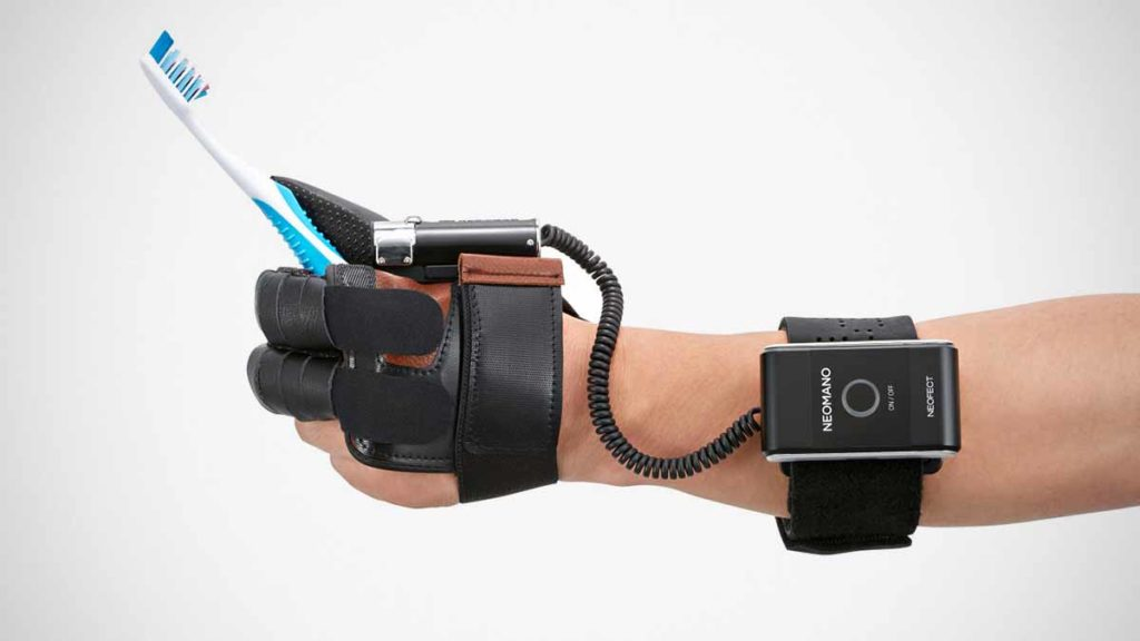 Neofect NeoMano Robotic Glove Indiegogo