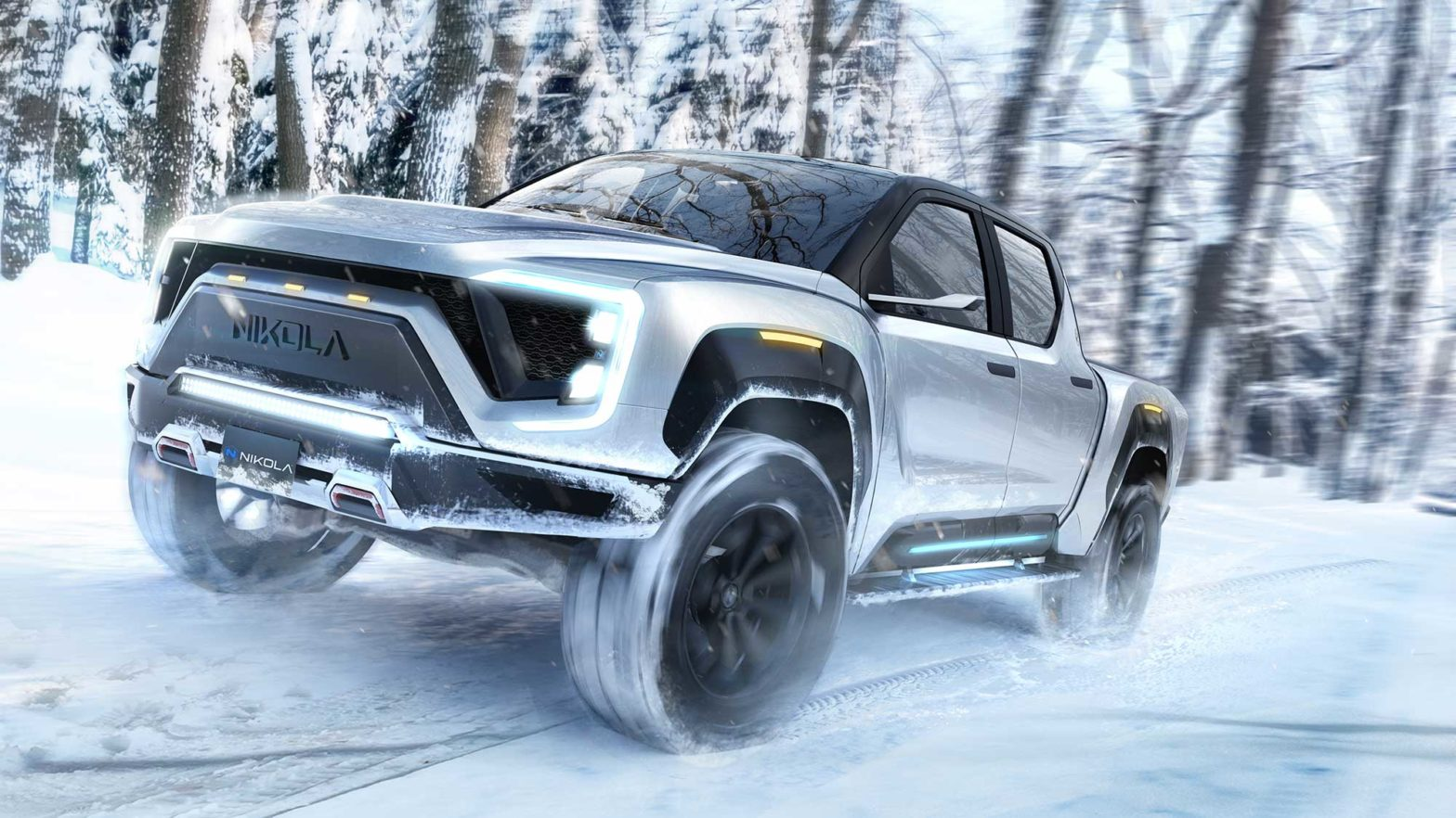 Nikola Badget Electric Pickup Truck