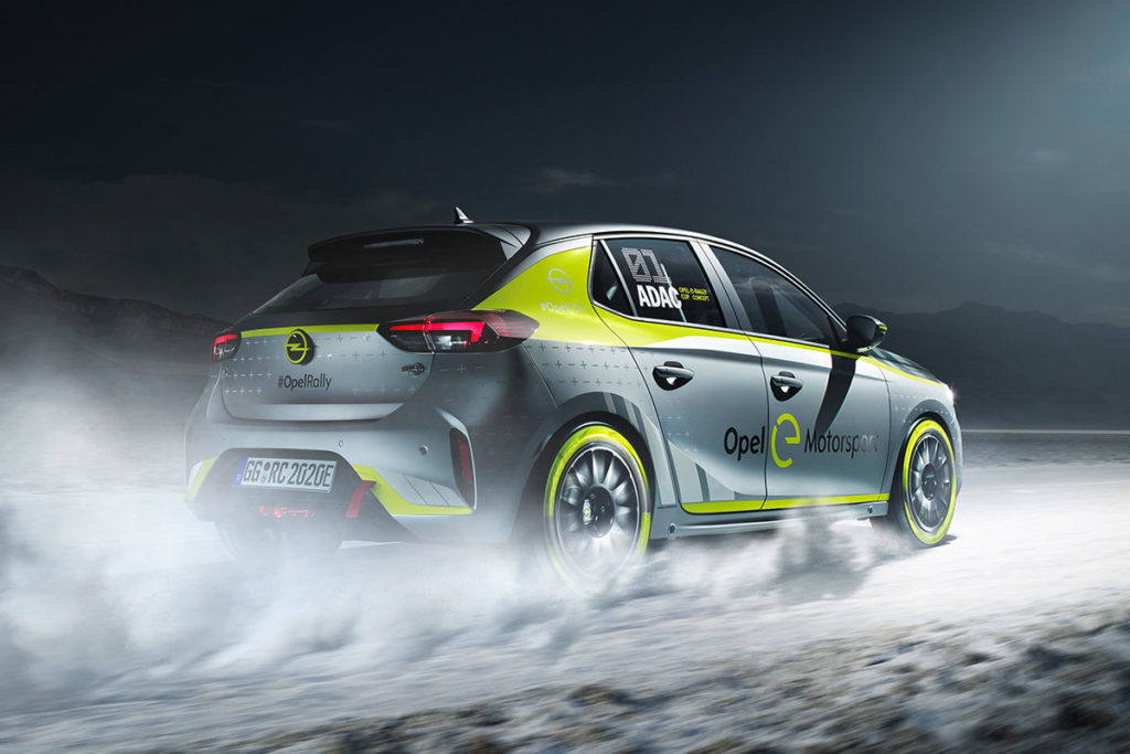 Opel Corsa-e Rally Car Frankfurt Motor Show