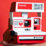 Celebrate Valentine's Day With This V-Day-Themed Classic Polaroid 600 Camera