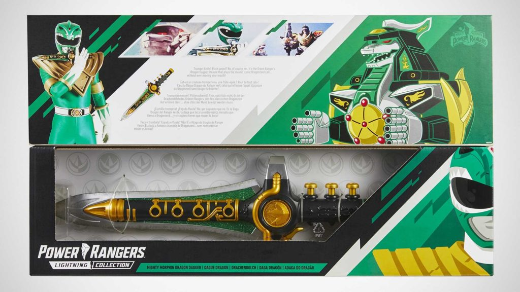 Power Rangers Mighty Morphin Green Dragon Dagger