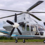 RC Scale Model Version Of The Eurocopter X3 Is Hybrid Of Turbine And Electric Motors