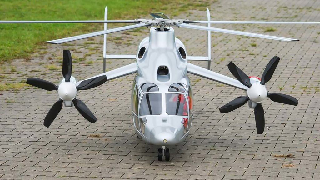 RC Eurocopter X3 Hybrid Helicopter