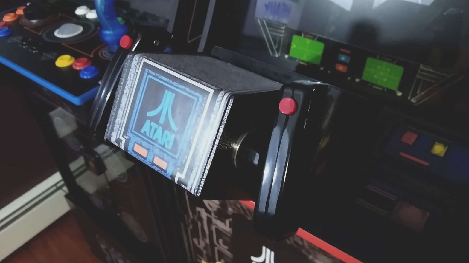 Redesigned ATARI Star Wars Flight Yoke