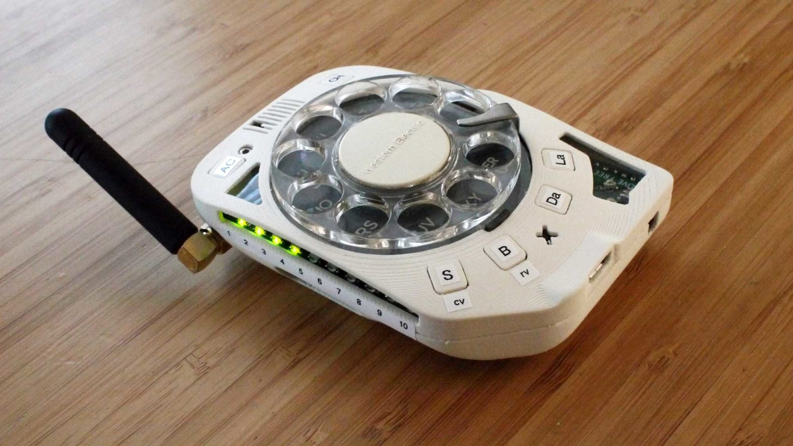 Rotary Cellphone by Justine Haupt