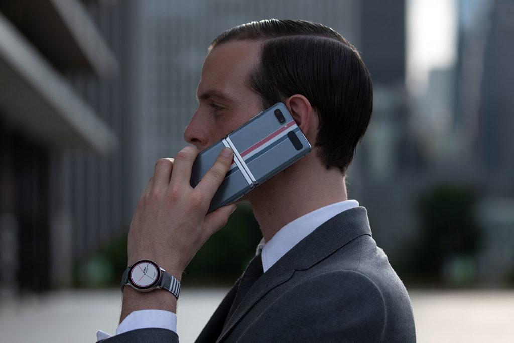 Samsung Galaxy Zip Flip Thom Browne Edition