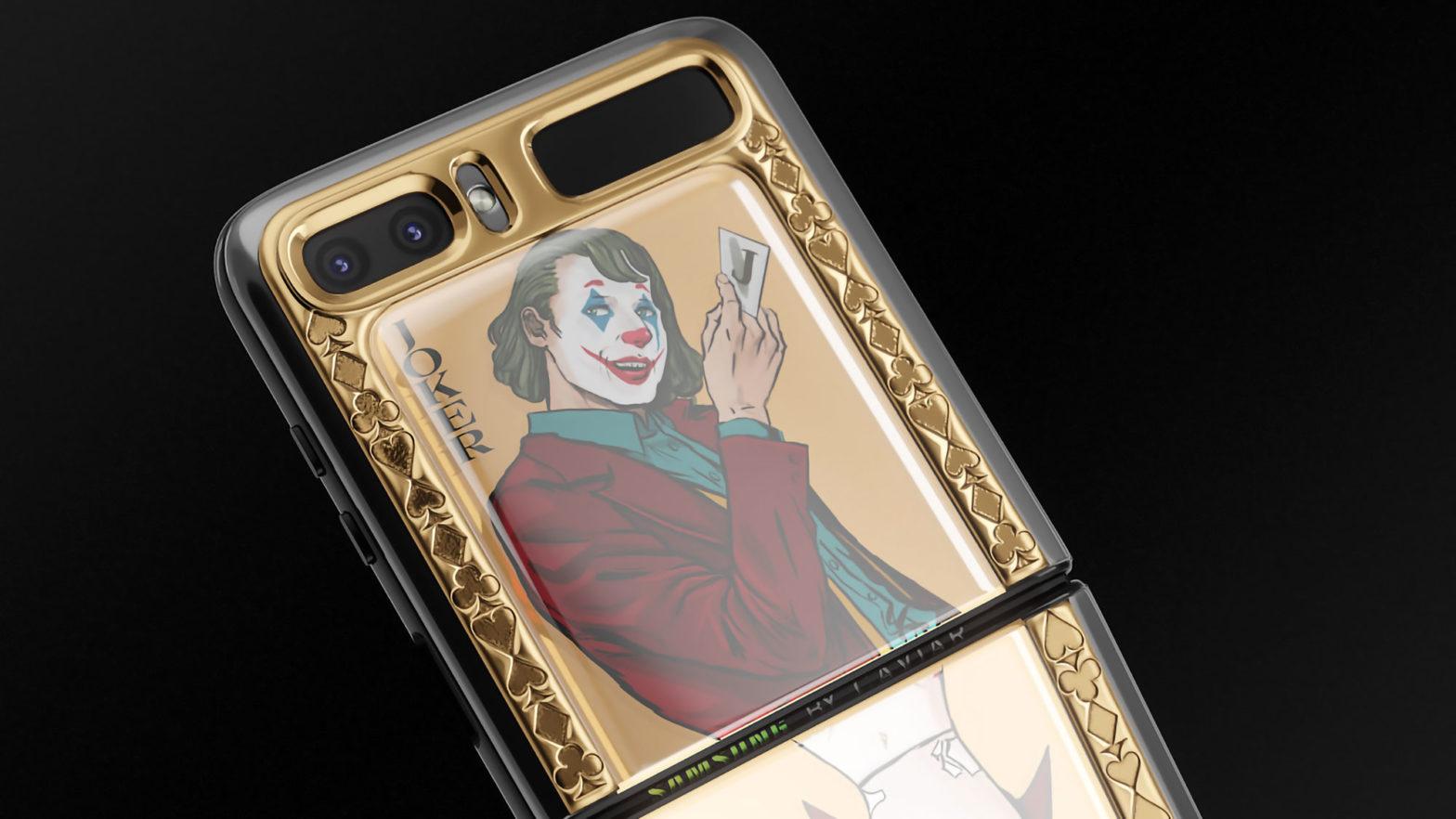 Samsung Z-Flip Joker & Harley Quinn Edition