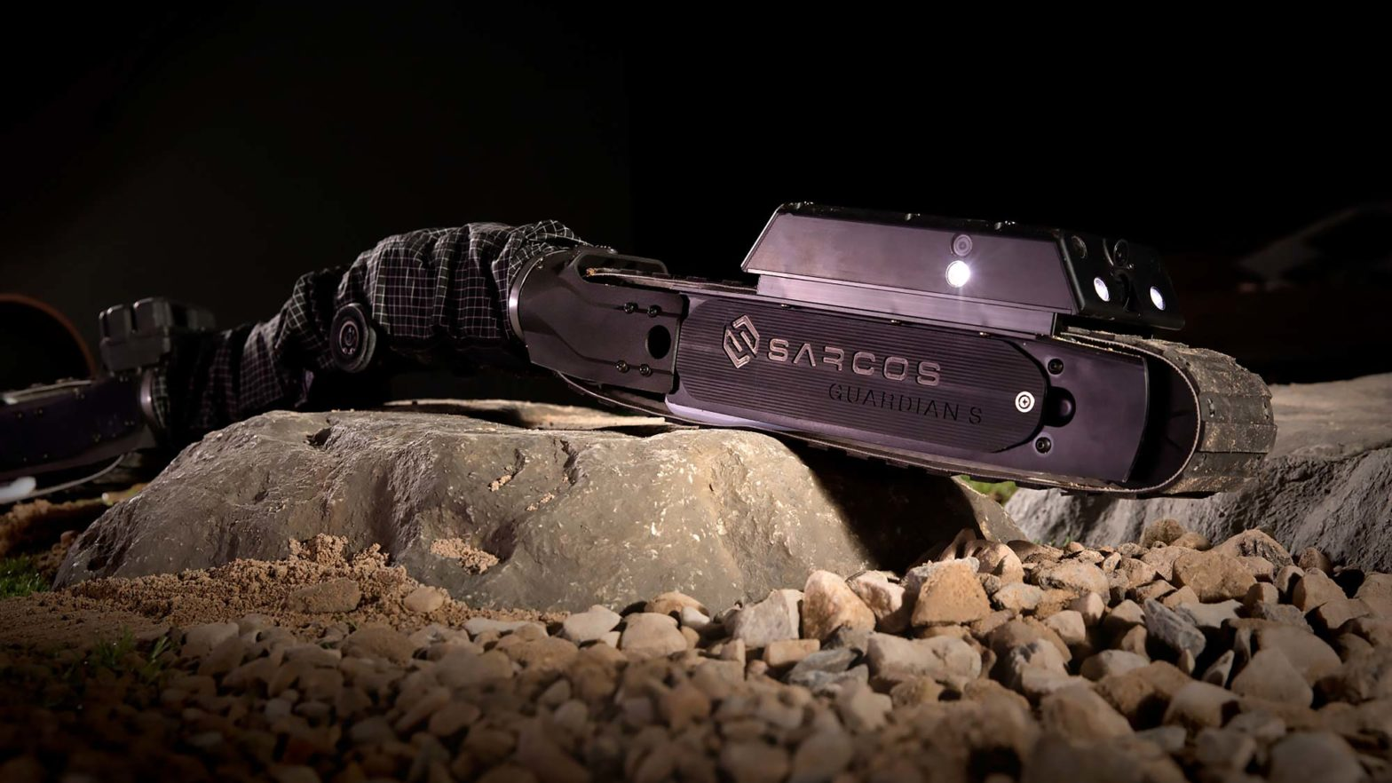 Sarcos Guardian S Snake-like Robot