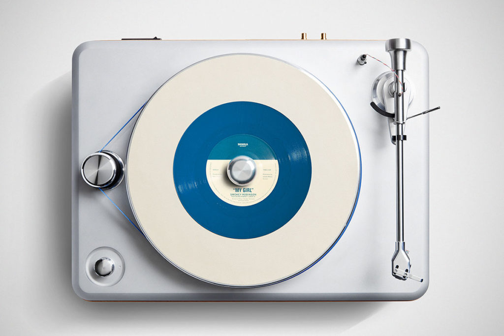Shinola Limited Edition Smokey Robinson Turntable