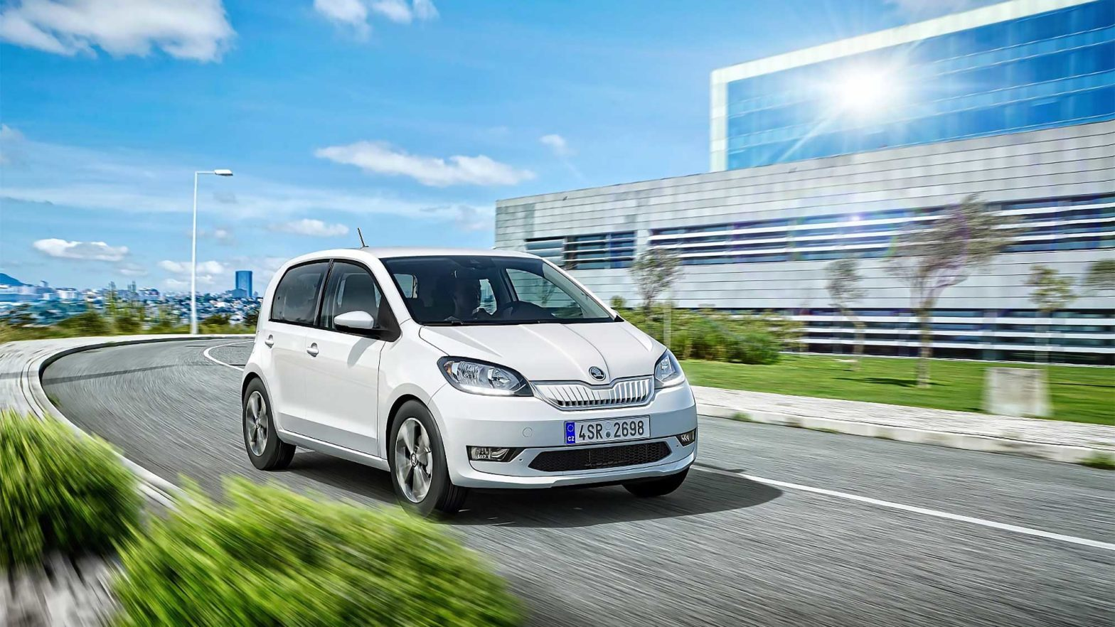 Skoda CITIGOe iV Electric Vehicle