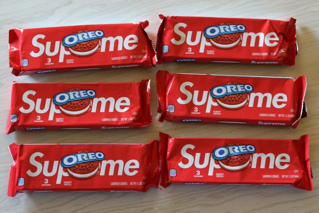 Supreme x Oreo Red Cookies Bidding Frenzy
