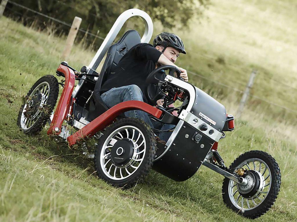 The Electric All Terrain Pendular Quadricycle