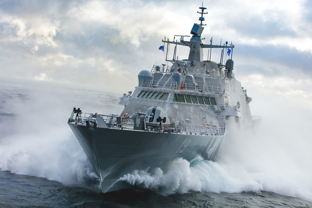 U.S. Navy Littoral Combat Ship 19 USS St. Louis