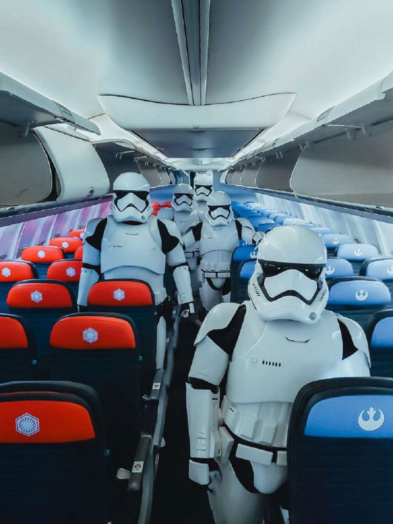 United Airlines x Star Wars: Rise of the Skywalker