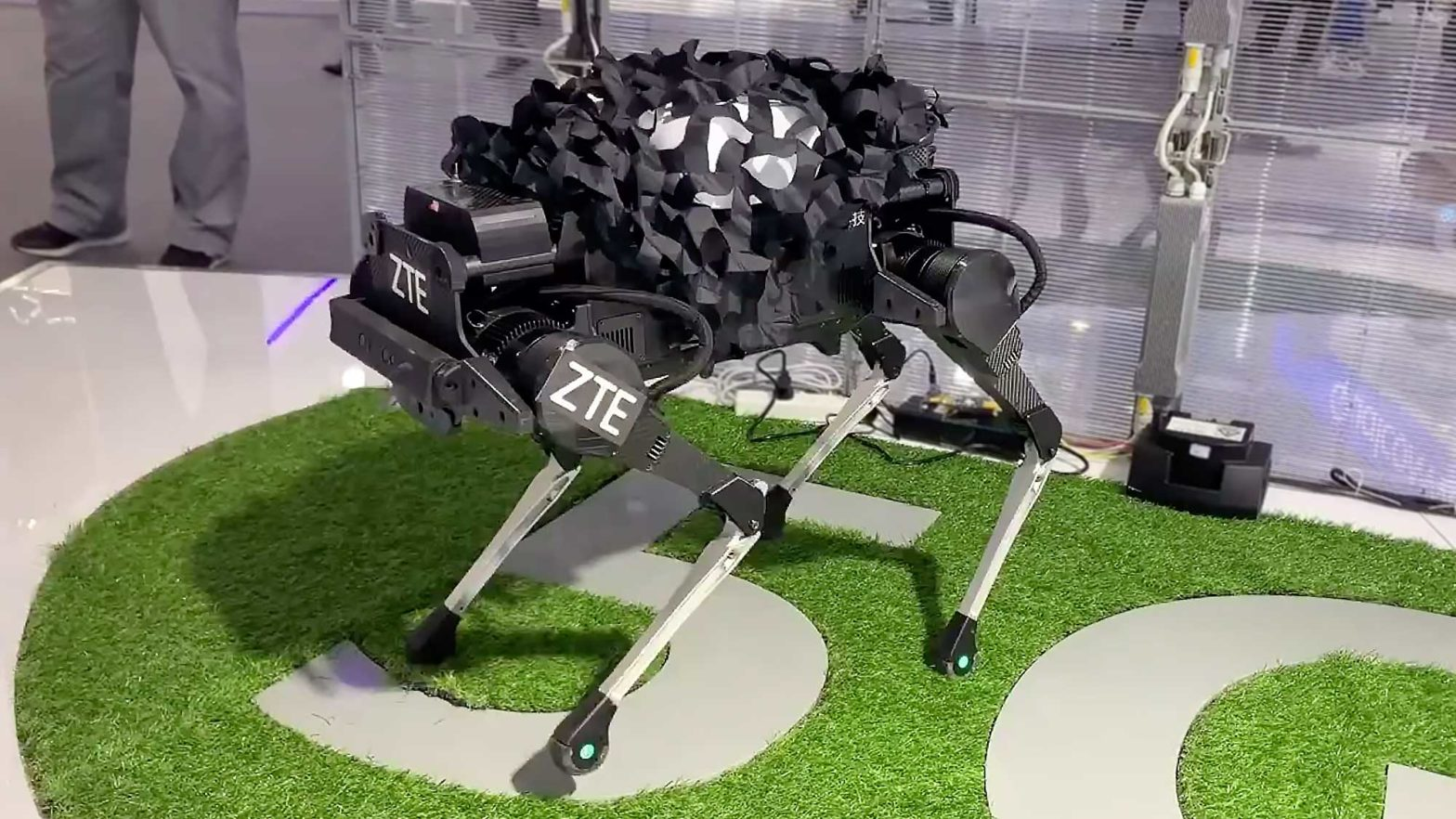 ZTE Corporation 5G Robotic Dog