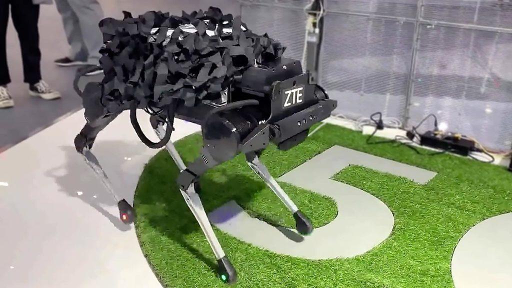 ZTE Corporation 5G Robotic Dog