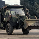 Ex-Military Freightliner Unimog Small Emplacement Excavator Is On The Block
