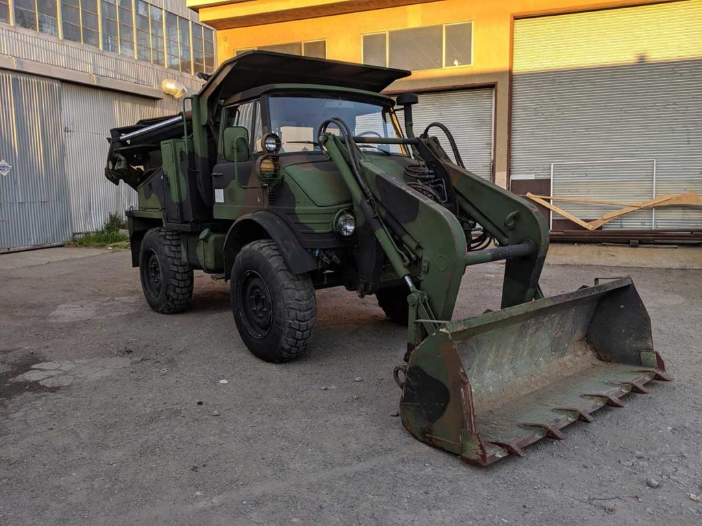 1987 Freightliner Unimog 419 for Sale