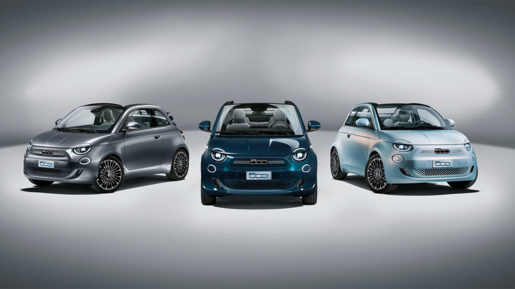 2021 Fiat 500 Electric Vehicle
