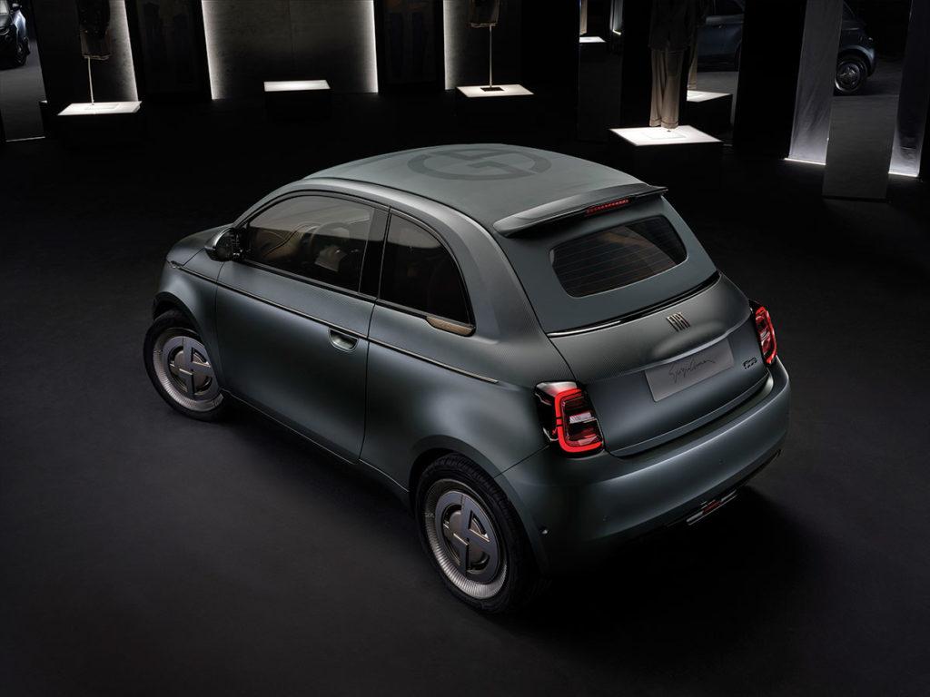 2021 Fiat 500 Giorgio Armani