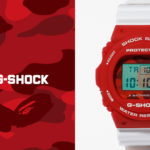 Casio Collaborates With A Bathing Ape For A BAPE Exclusive DW-5750 Watch