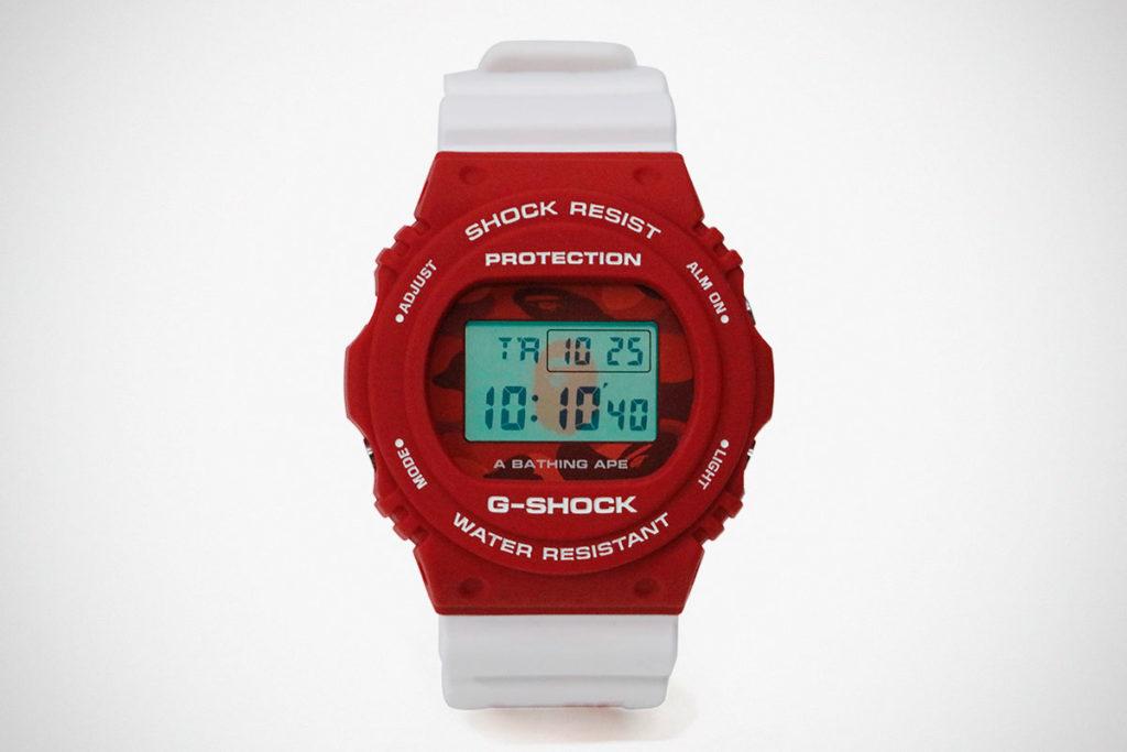 A Bathing Ape x G-Shock DW-5750 Watch