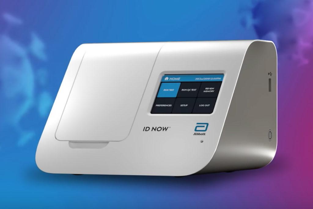 Abbott ID NOW COVID-19 Lab-in-a-Box