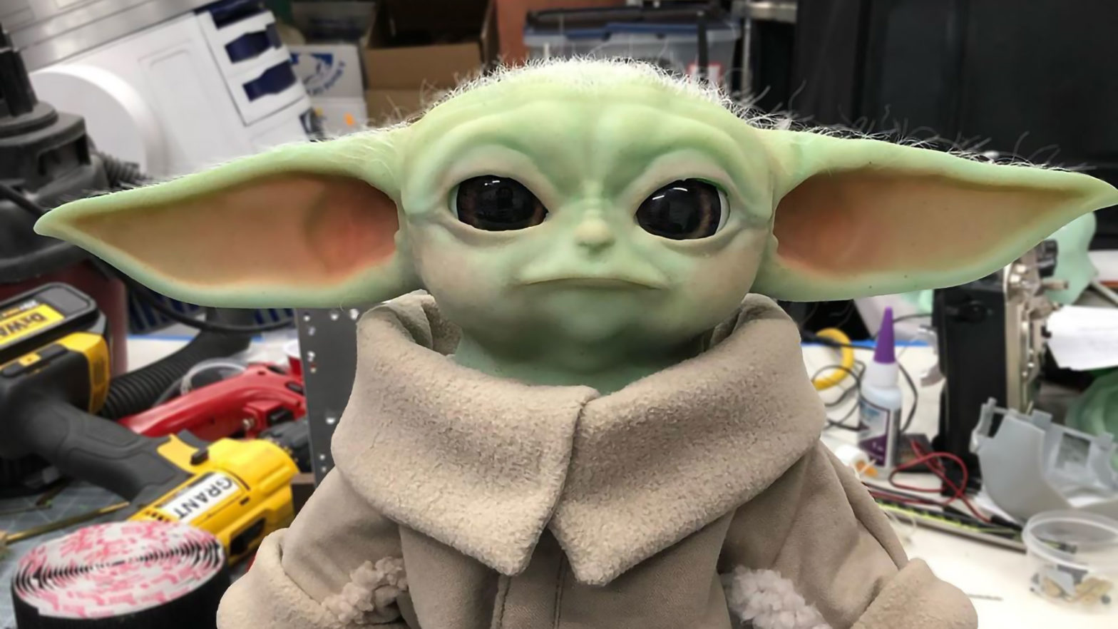 Animatronic Baby Yoda Grant Imahara