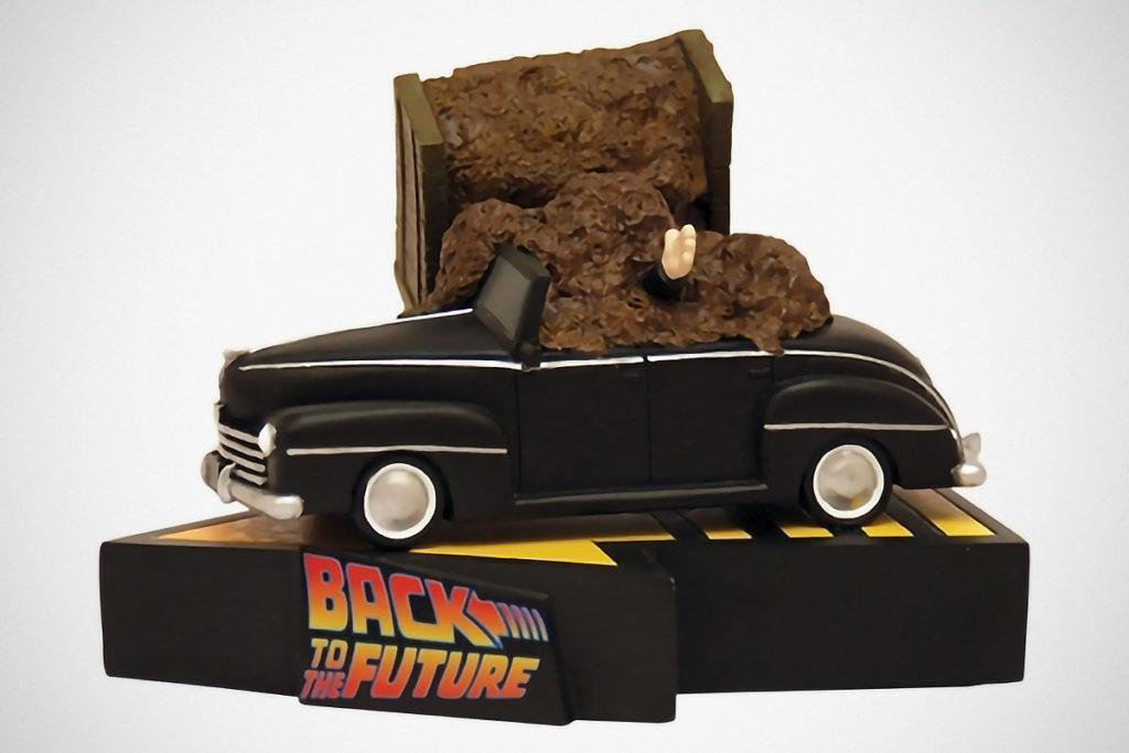 Back to the Future Biff Tannen Manure Statue