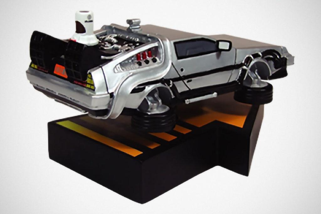 Back to the Future Part II DeLorean Time Machine Statue