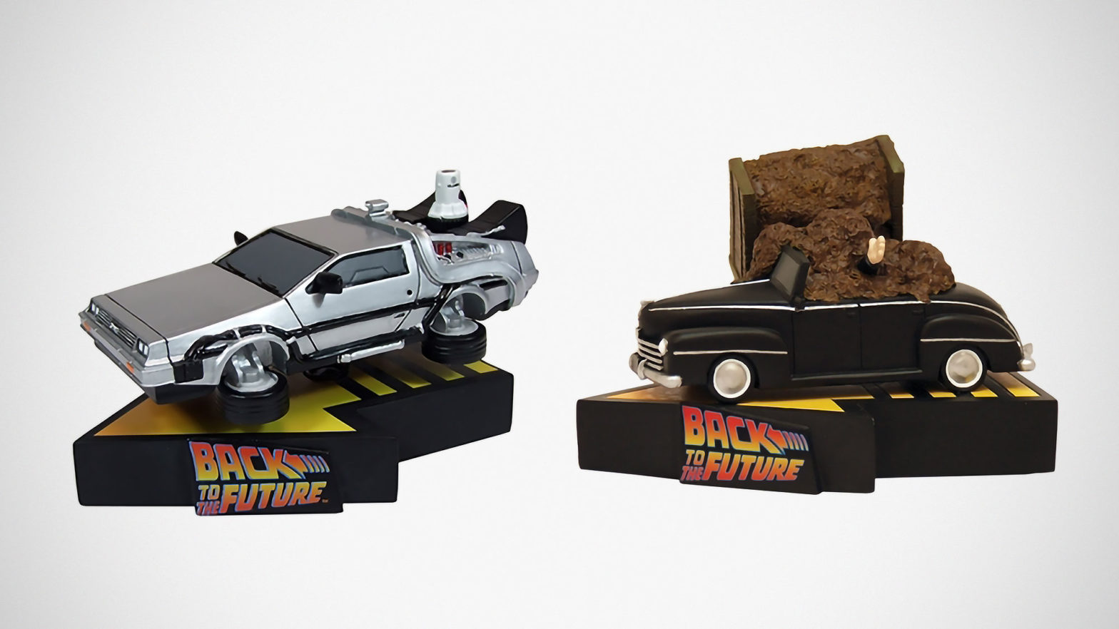 Back to the Future Statues Factory Entertainment