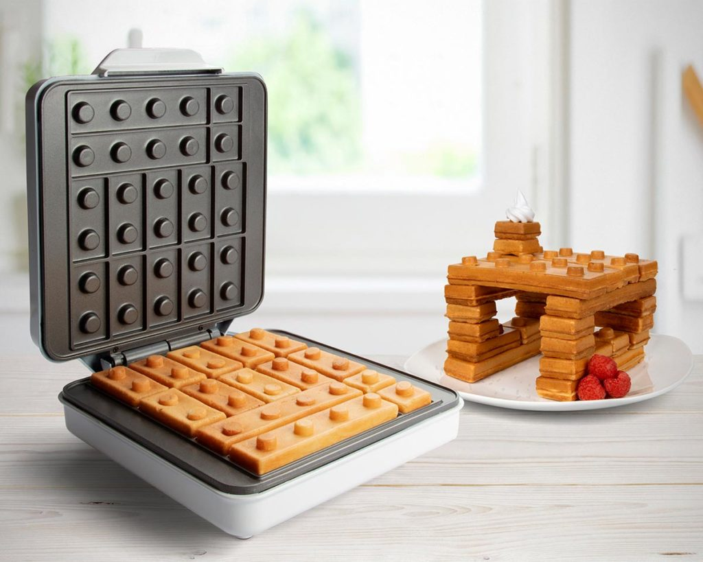 Building Brick Waffle Maker Kickstarter