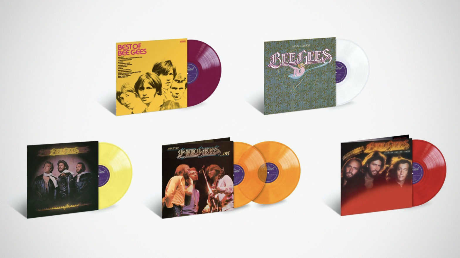 Capitol/UMe Bee Gees Remastered LPs