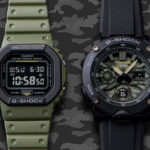 New G-Shock Street Utility Military Series Comes With Updated Layered Bezel Structure