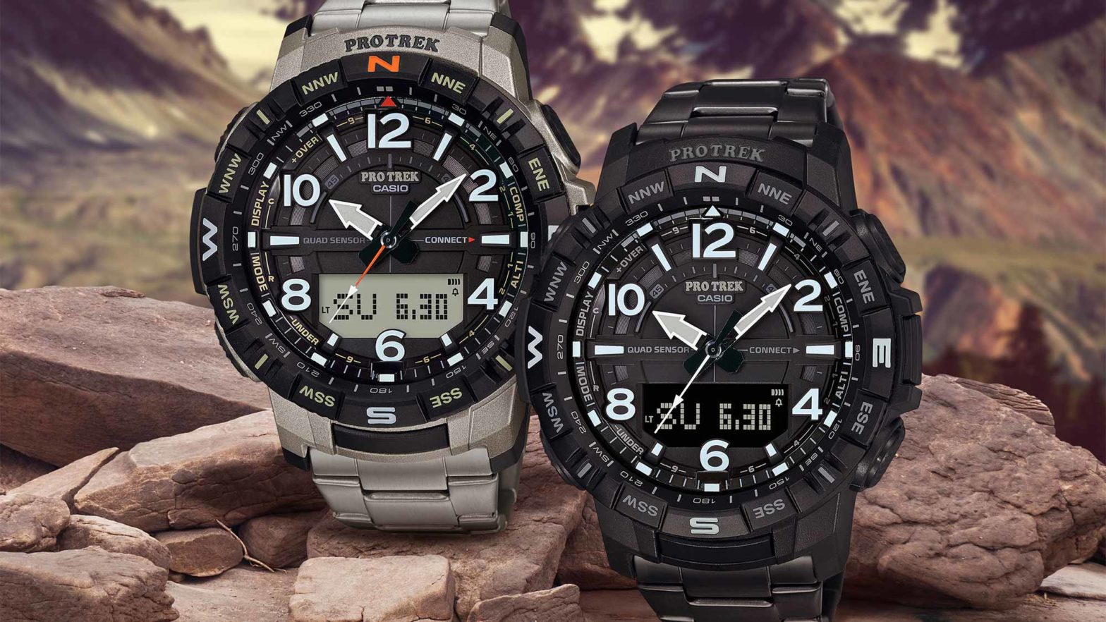 Casio PRO TREK PRT-B50T-7 and PRT-B50T-7